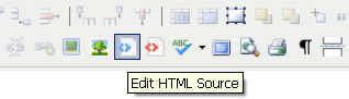 Open article under HTML editing mode