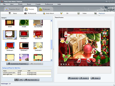 Screenshot of Photo Flash Maker Platinum